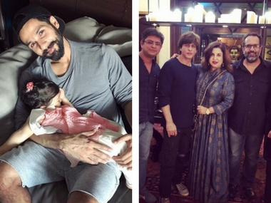Shahid Kapoor smiles as Misha sleeps; Shah Rukh Khan's filmy get together: Social Media Stalkers' Guide