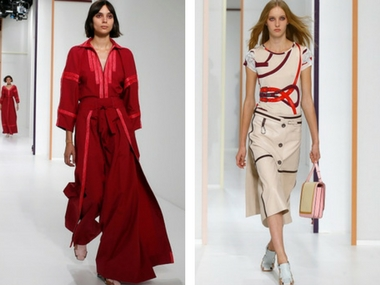 Hermès presents '90s inspired ready-to-wear Spring 2018 collection in Paris