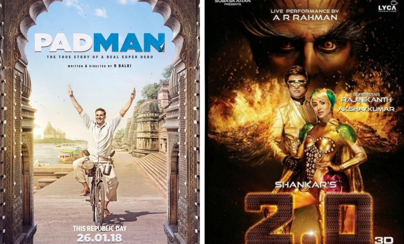 Akshay Kumars Padman release date pulled ahead to clash with his 20 on Republic Day weekend