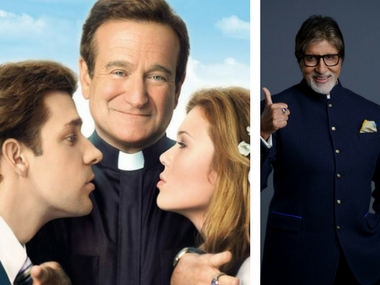 Amitabh Bachchan may appear in the Hindi remake of Robin William's film License to Wed