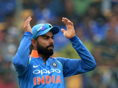 Virat Kohli didn't have a bowling option up his sleeve once his five-probged bowling attack failed. AFP