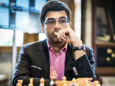 Tata Steel Masters Chess Viswanathan Anand beats Fabiano Caruana to share lead with Anish Giri
