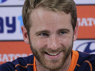 New Zealand's captain Kane Williamson smiles during a press conference ahead of their first ODI against India. AP