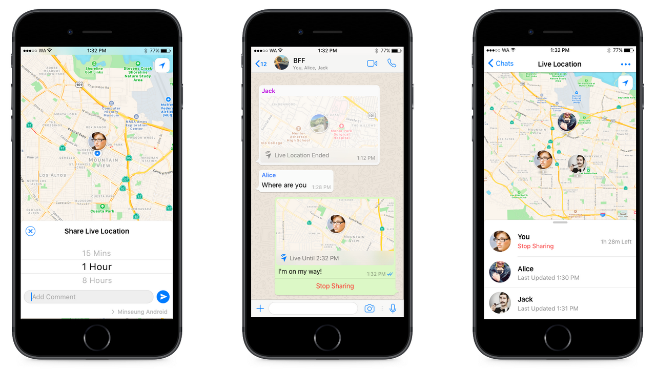 How to share your WhatsApp Live Location. WhatsApp