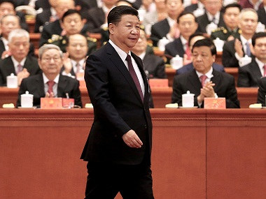 What is Xi Jinping thinking Chinas leader makes his way into the Communist Party constitution