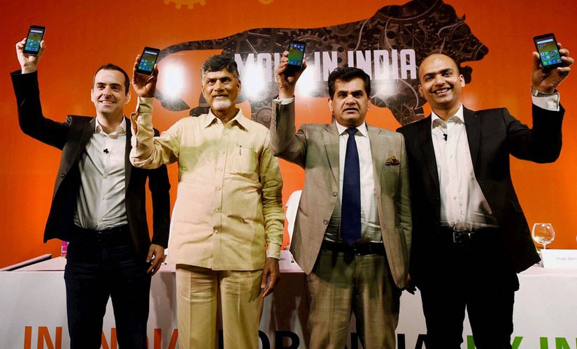 Xiaomi has opened its smartphone making facility in Andhra Pradesh
