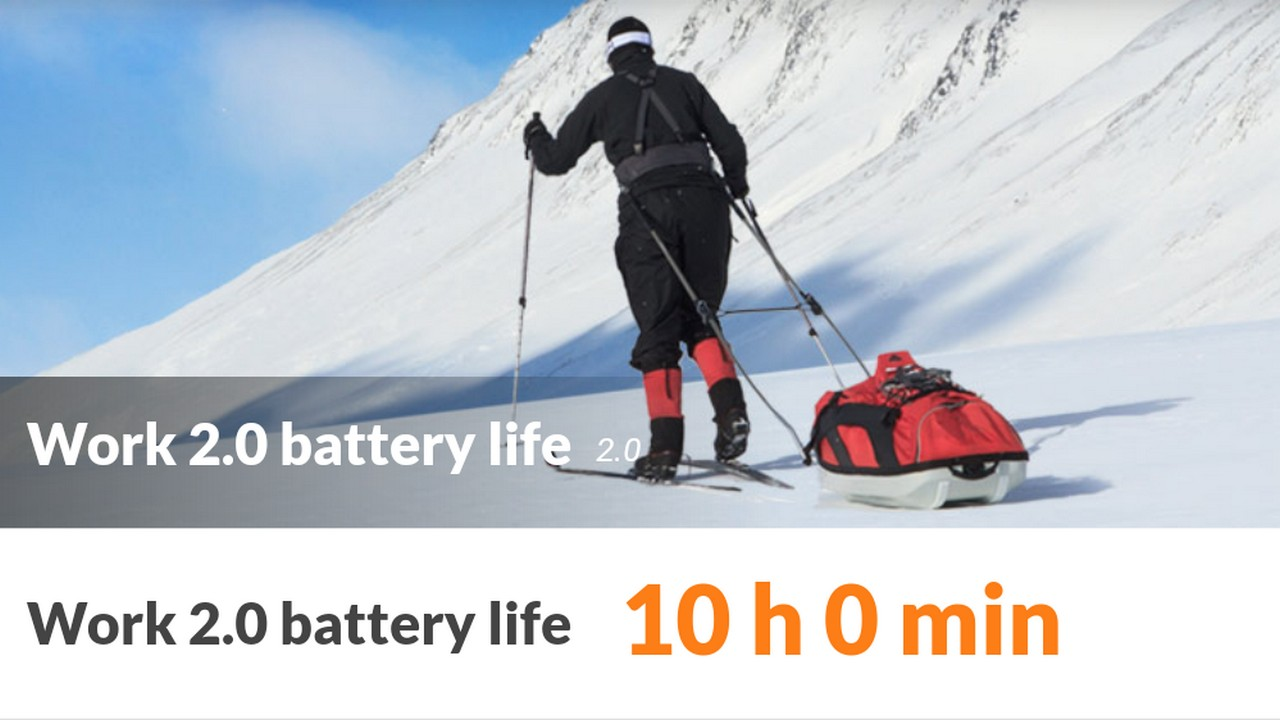 10 hours is pretty good given the specifications it has on offer.
