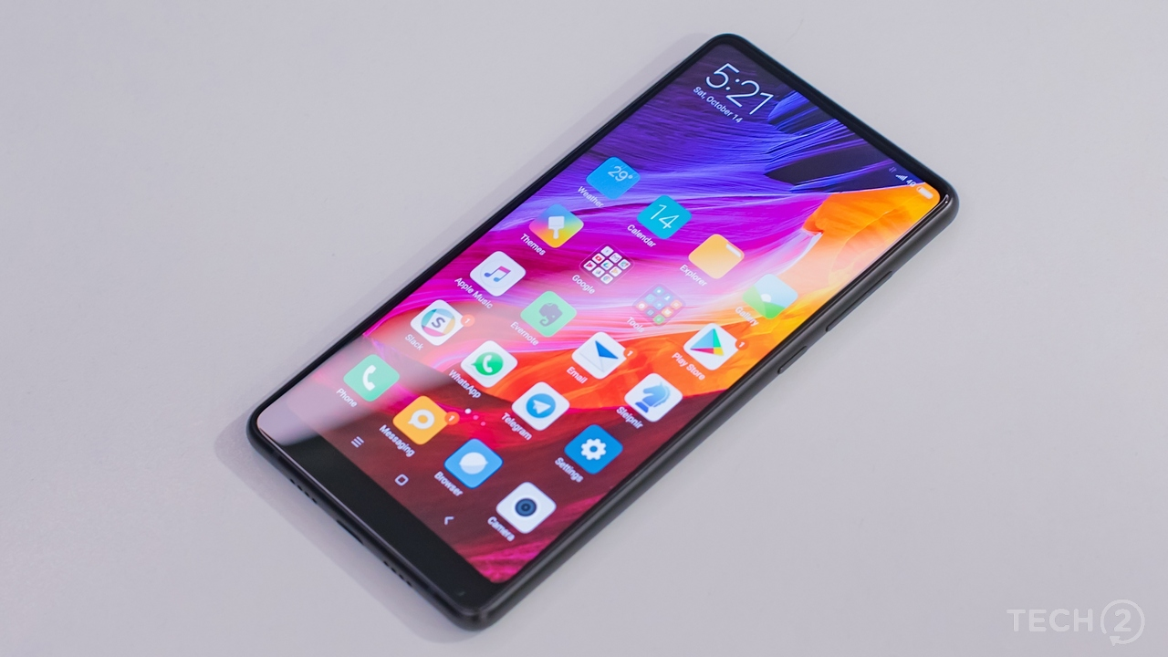 Rounded corners match the UI elements of MIUI V8. Image: tech2/Rehan Hooda