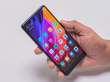 The Xiaomi Mi Mix 2. Image: tech2/Rehan Hooda