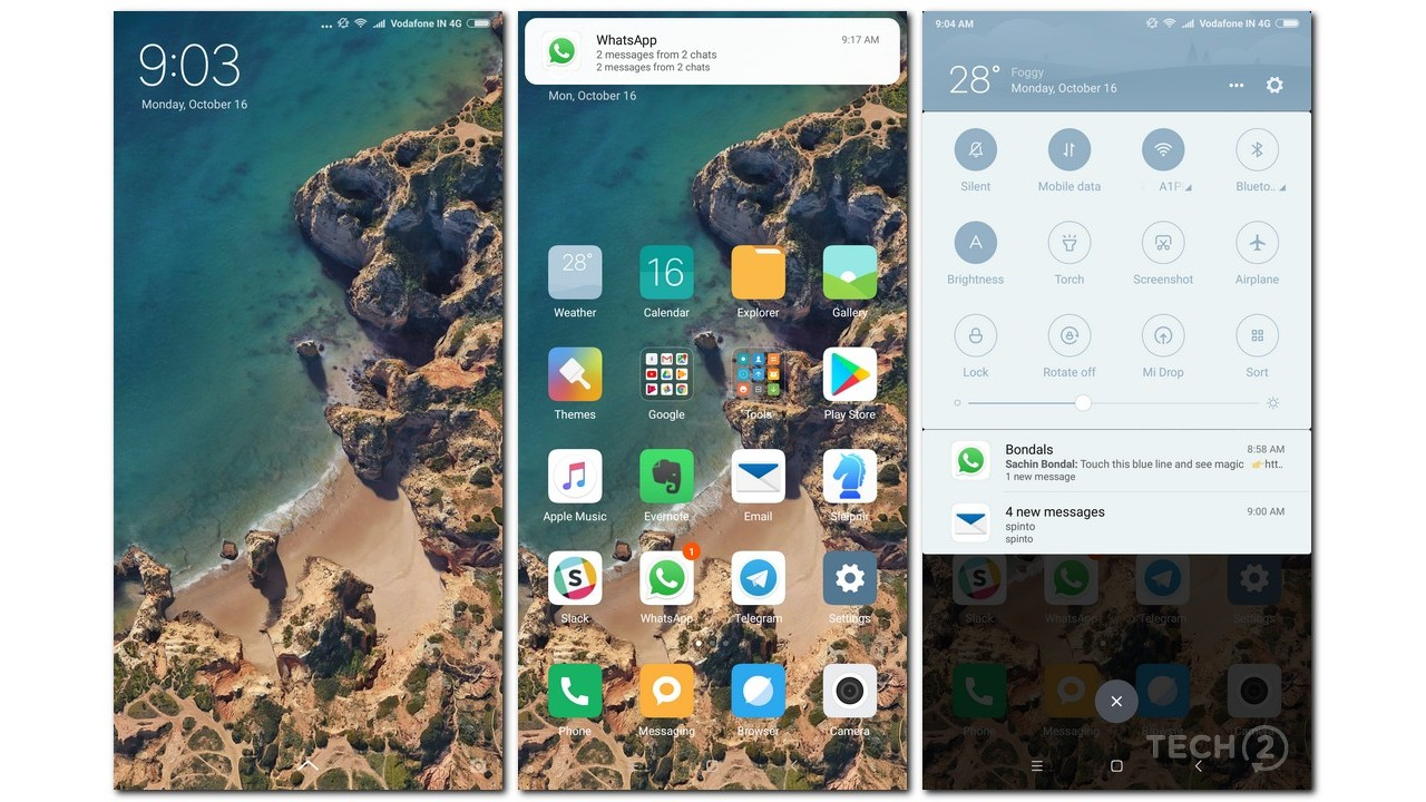 A full-screen software experience. Image: tech2/Rehan Hooda