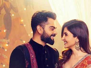 Anushka Sharma, Virat Kohli to star in new ad for clothing brand; stills show them wearing Diwali outfits