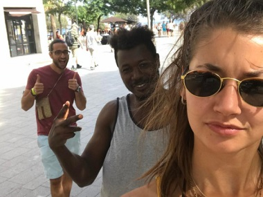 Amsterdam student takes selfies with men harassing her to send a powerful message against catcalling