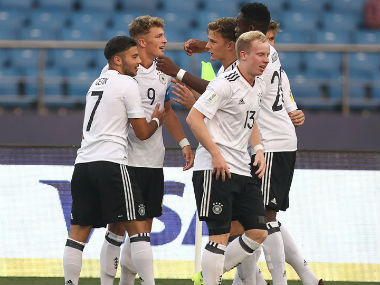 FIFA U17 World Cup 2017 Germany punish Colombia for defensive lapses storm into quarterfinal