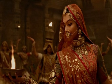 Padmavati song 'Ghoomar' banned from playing at school functions; circular withdrawn later