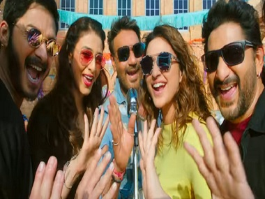 Golmaal Again: Rohit Shetty's film crosses Rs 180 cr in India, becomes highest grosser of 2017
