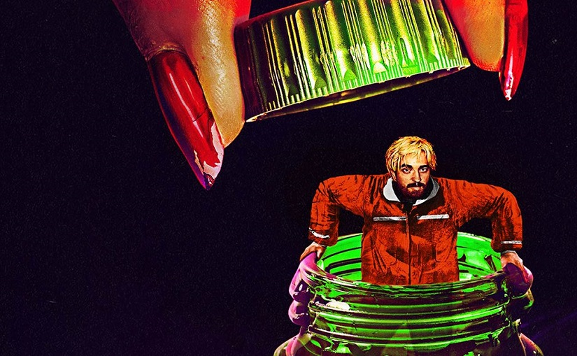 The poster for Good Time. Image from Facebook/@GoodTimeMov