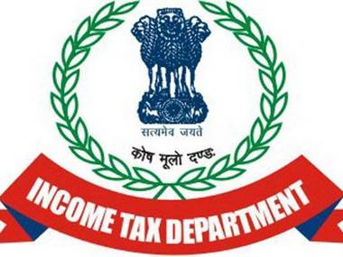 Logo of Income Tax Department.