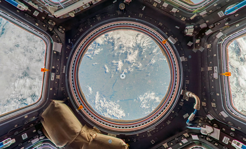 The Cupola of the ISS. Image: Google Maps.