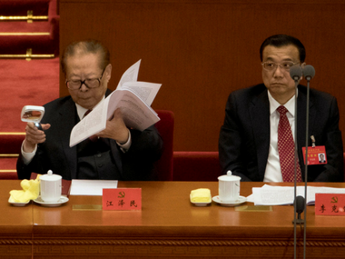 Rumoured dead, ex-Chinese leader Jiang Zemin's sends social media into frenzy with Communist meeting appearance