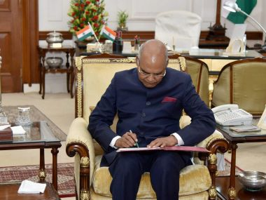 The Contrarian President: Ram Nath Kovind sticking to his ideals shows he's upholding dignity of post