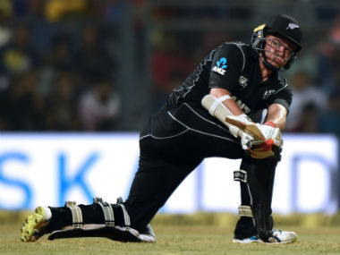 Tom Latham employed the sweep in good effect at Wankhede and will look to continue in the same vein in Pune. AFP