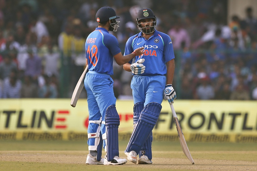 This is Rohit Sharma and Virat Kohli's fourth double-century stand. AP