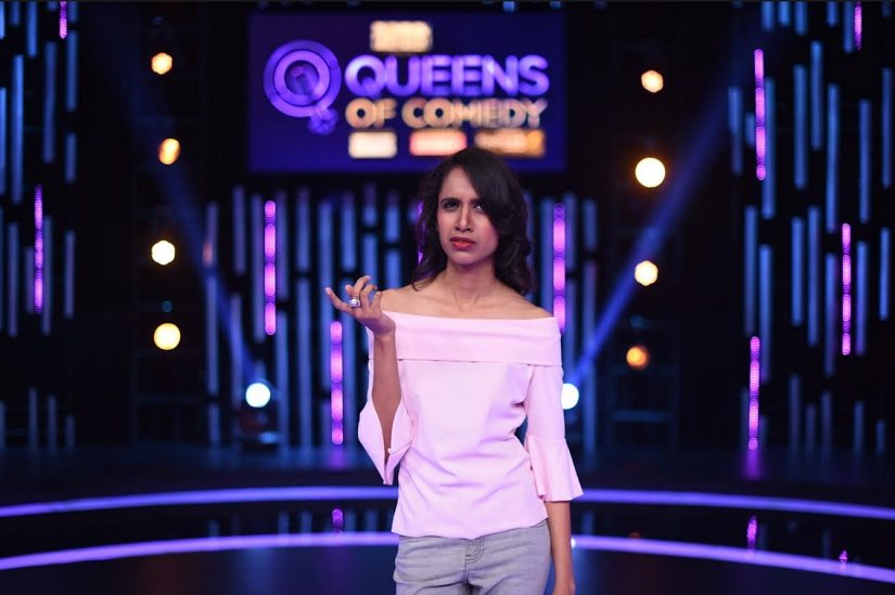 Niveditha Prakasam on Queens of Comedy