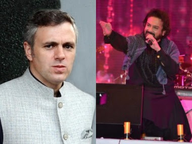 Adnan Sami, Omar Abdullah engage in a Twitter spat over the Bollywood singer's Srinagar concert