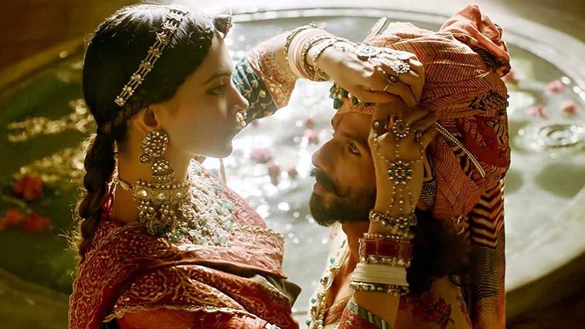 Deepika Padukone and Shahid Kapoor in Padmavati