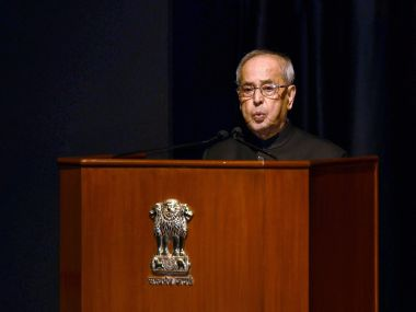 Pranab Mukherjee says Sitaram Kesri's ambition to become PM led to Gujral government's failure in 1997