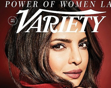 Priyanka Chopra is Variety's latest cover girl and Power of Women honoree