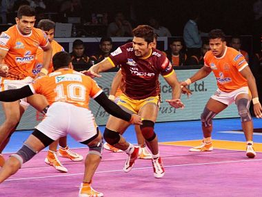Pro Kabaddi League 2017 Puneri Paltans dogged persistence takes them past UP Yoddha in a thriller