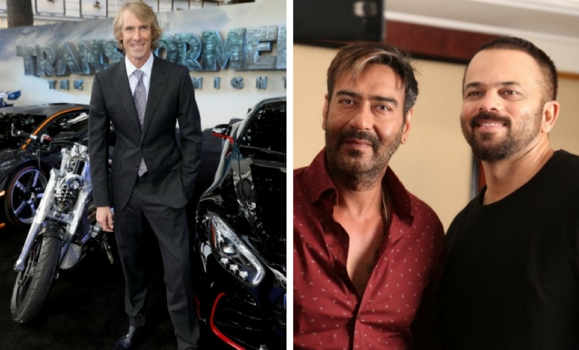 Images from Twitter/@michaelbay and @tileshouse1