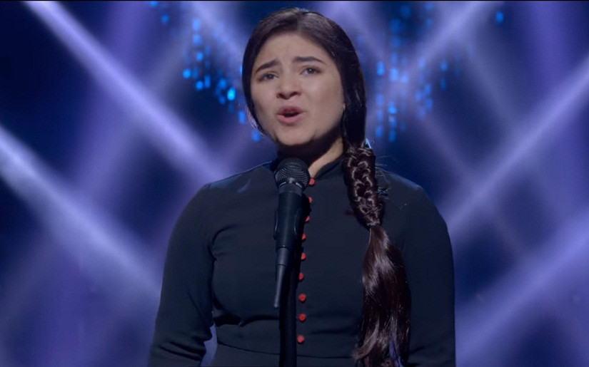 Zaira Wasim in a still from Secret Superstar. YouTube