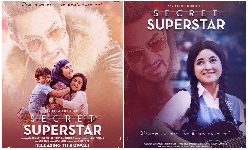 Posters for Secret Superstar