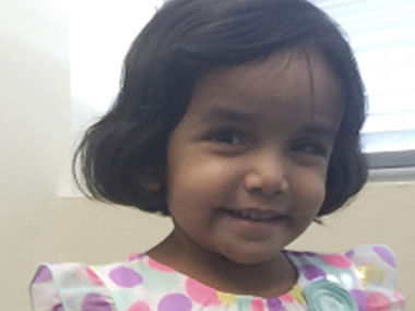 Sherin Mathews sister to live with Houston family after six weeks of foster care