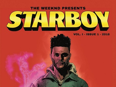 The Weeknd to collaborate with Marvel comics for series titled Starboy based on his alter-ego