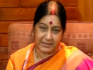Sushma Swaraj assures medical visa to ailing infant from Pakistan for open heart surgery