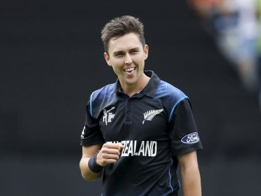 File image of New Zealand's Trent Boult. REUTERS