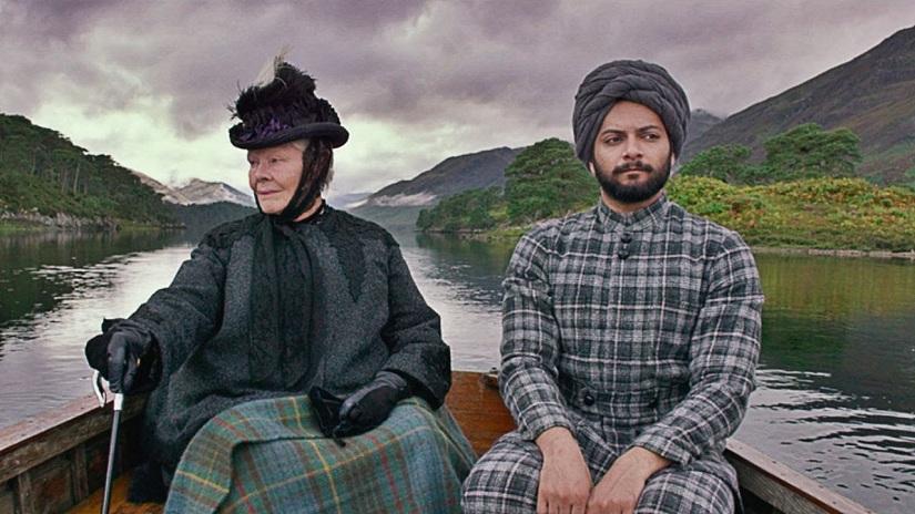 Judi Dench and Ali Fazal in a still from Victoria & Abdul