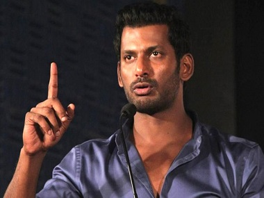 Tamil actor Vishal joins politics: 'I'm here as a commoner, I look up to Arvind Kejriwal'