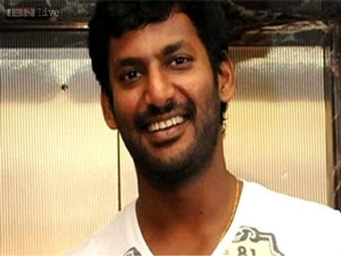 Tamil actor Vishal to contest RK Nagar Assembly bypoll as independent candidate, will file nomination on Monday
