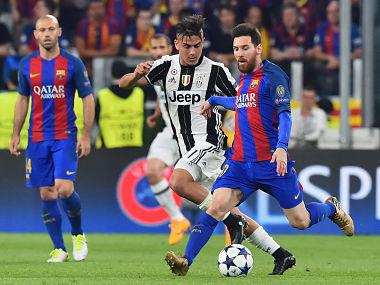 Champions League: Lionel Messi, Paulo Dybala renew rivalry as Barcelona face Juventus