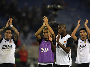 La Liga Valencias recordbreaking win keeps them in hunt for top spot Athletic Bilbao end losing streak