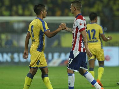 ISL 2017-18: Defending champions ATK play out goalless draw against Kerala Blasters in season's opener