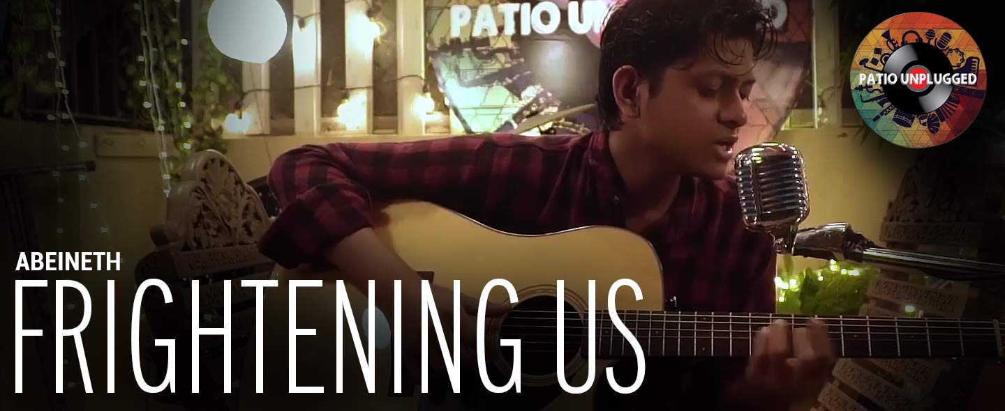 Patio Unplugged: Abeineth's Frightening Us is an anti-war protest song to raise awareness of the plight of refugees