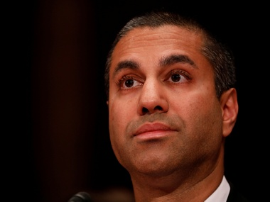 Ajit Pai, Chairman of the Federal Communications Commission. Image: Reuters