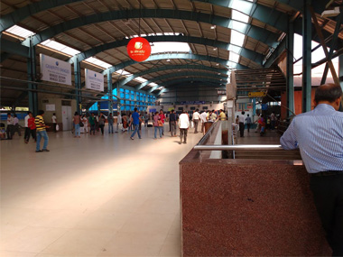 Slab from ceiling collapses in Mumbai's Andheri railway station, two left injured