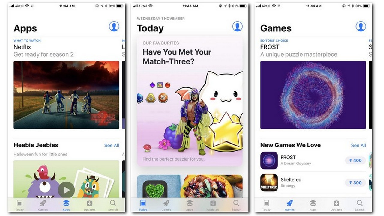 The revamped App Store on iOS 11