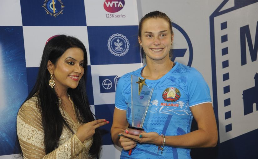Meet Aryna Sabalenka the 19yearold rising star from Belarus who won her first WTA title at Mumbai Open